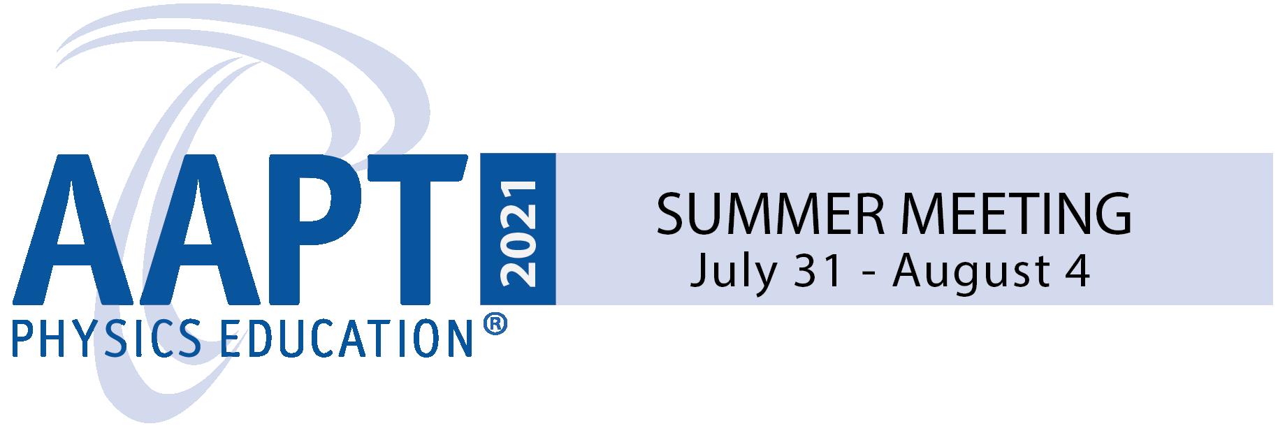 AAPT Summer Meeting 2021