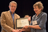 Kenneth S. Krane receiving Homer L. Dodge Citation for Distinguished Service to AAPT