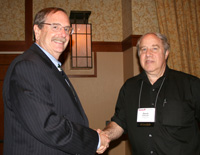 Mark D. Greenman recieves the 2012 Paul W. Zitzewitz Excellence in Pre-College Teaching Award