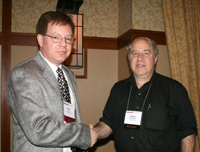 Kevin M. Lee, 2012 recipient of the David Halliday and Robert Resnick Award for Excellence in Undergraduate Physics Teaching