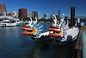 Dragon Boats in Portland, OR