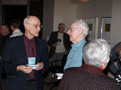 Charlie Holbrow and David Cook at 2009 Winter Meeting