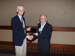 Paul Hickman Receives Distinguished Service Award