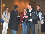 Young physicists at 2009 Winter Meeting