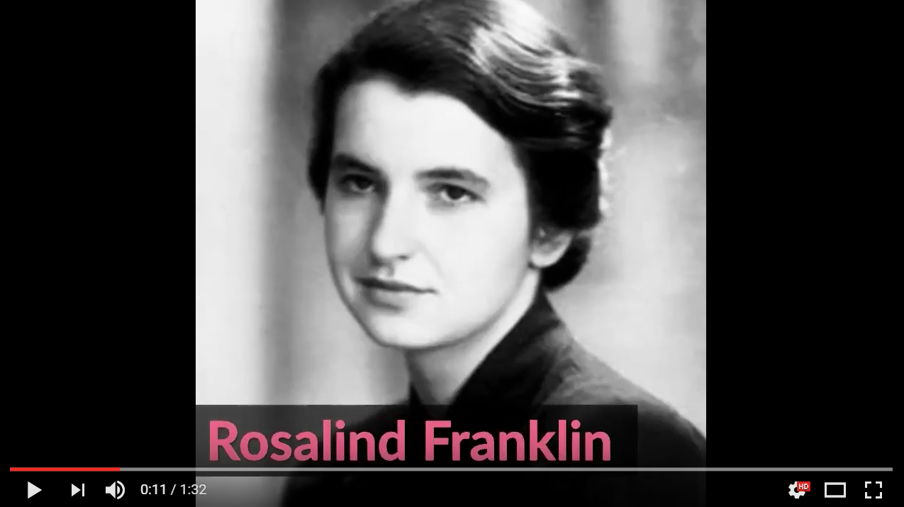 Rosalind Franklin YouTube