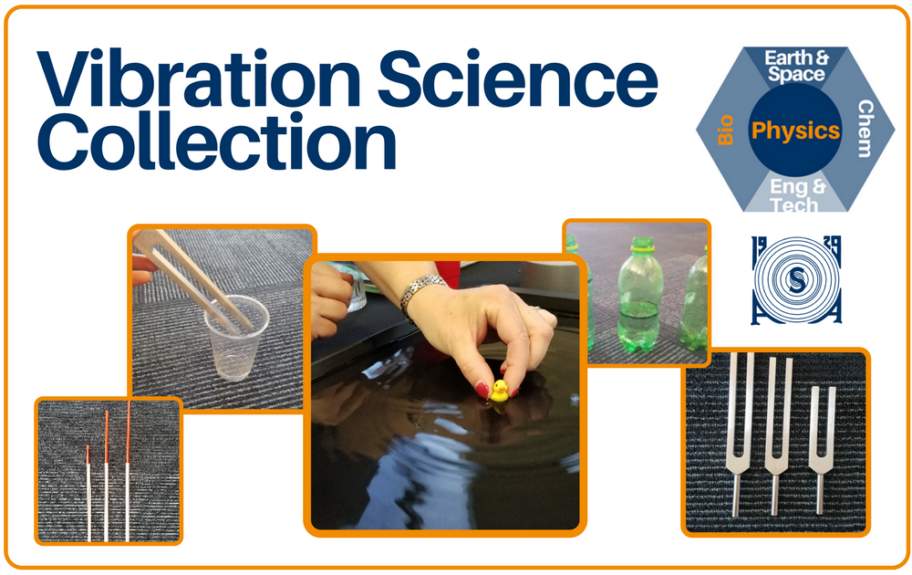 Vibration Science Collection Cover