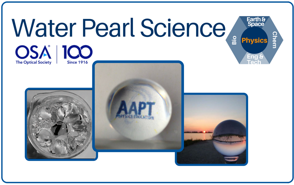 Water Pearl Science Cover