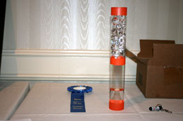 """Invisible Spheres"" - 2010 Apparatus Competition Low Cost Winner (small)"