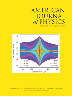 September 2020 issue of American Journal of Physics