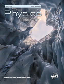 January 2018 Issue of The Physics Teacher
