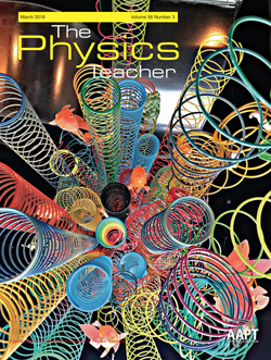 March 2018 issue of The Physics Teacher