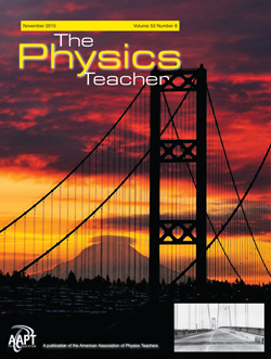 The Physics Teacher, November 2015