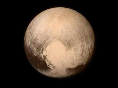Pluto from New Horizons