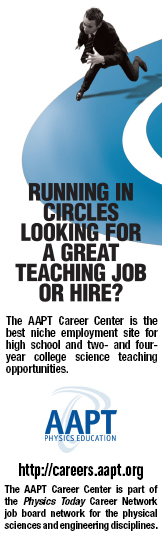 AAPT Career Center