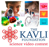 The KAVLI Foundation science video contest logo