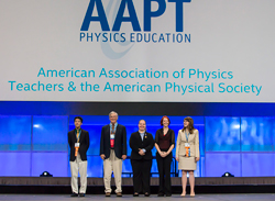 2014 ISEF AAPT-APS Special Organization Award winners