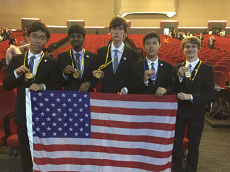 U.S. Traveling Physics Team Scores Five Medals