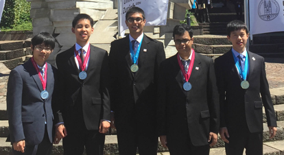 2016 Physics Team medal results