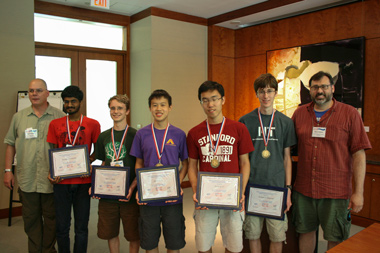 2015 U.S. Traveling Physics Team