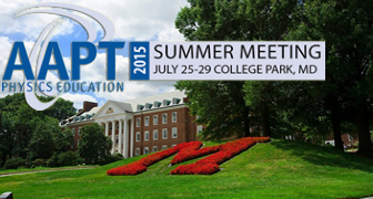 Summer Meeting 2015 in College Park, Maryland