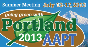 Summer Meeting 2013 in Portland, Oregon