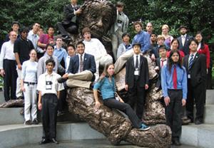 U.S. Physics Team in class